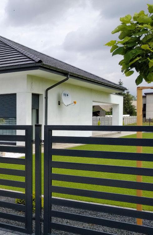 Ogrodzenia frontowe dla domu