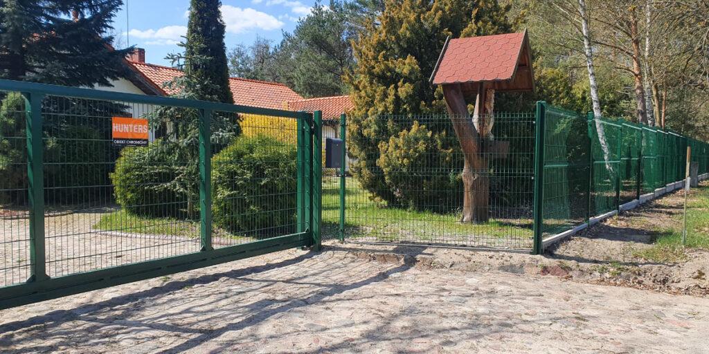 Ogrodzenia z paneli ogrodzeniowych